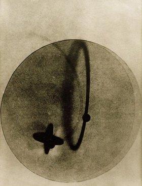 László Moholy-Nagy: Photogram (Positive)