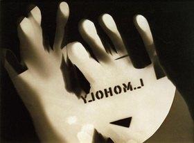 László Moholy-Nagy: Fotogramm (ohne Titel)