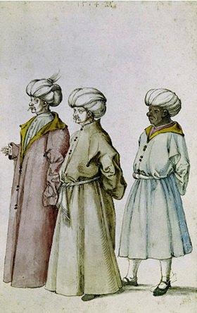 Albrecht Dürer: Die drei Orientalen