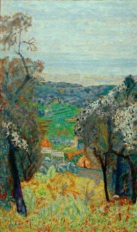 Pierre Bonnard: Landschaft bei Cannet
