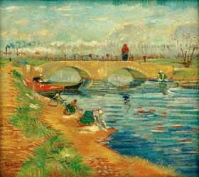 Vincent van Gogh: Brücke von Gleize in der Nähe von Arles, 1888