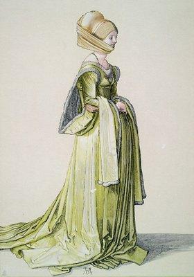 Albrecht Dürer: A Nuremberg Woman in a Dance Dress