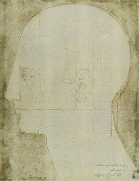 Albrecht Dürer: Kopf eines Mannes im Profil