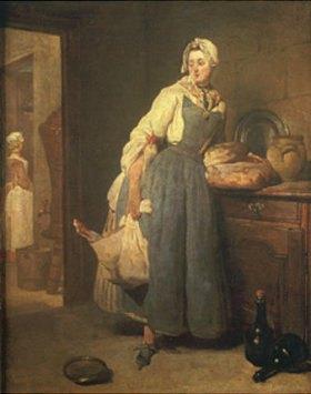 Jean-Baptiste Siméon Chardin: Rückkehr vom Markt