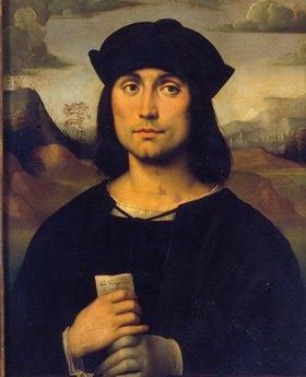 Francesco (Raibolini) Francia: Bildnis des Predigers Scappi