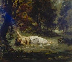 Eugene Delacroix: Der Tod der Ophelia