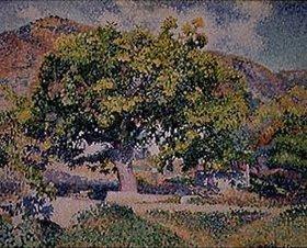Henri Edmond Cross: Die Umgebung meines Hauses
