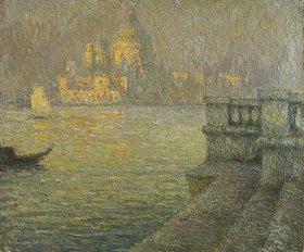 Henri Le Sidaner: Venedig, Santa Maria della Salute