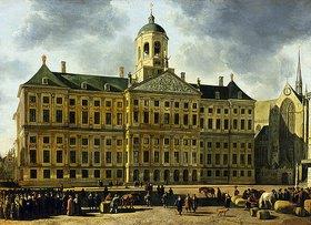 Gerrit Adriaensz Berckheyde: Das Rathaus von Amsterdam