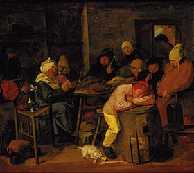 Adriaen Brouwer: Bauerngesellschaft