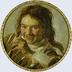 Frans Hals: Knabe mit Flöte (Das Gehör)