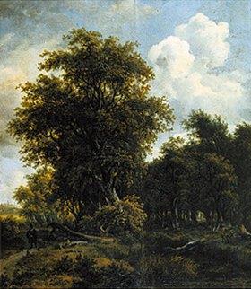 Meindert Hobbema: Waldlandschaft