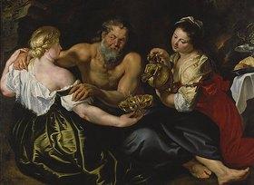 Peter Paul Rubens: Lot und seine Töchter in einer Grotte