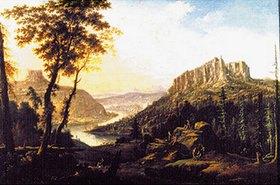 Johann Alexander Thiele: Prospekt der Festung Königstein