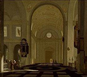 Emanuel de Witte: Inneres einer Renaissance-Kirche