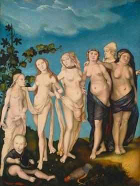 Hans Baldung (Grien): Die sieben Lebensalter des Weibes