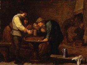 Adriaen Brouwer: Bauern beim Brettspiel