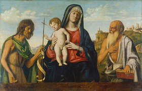 Cima da Conegliano: Maria mit dem Kind zwischen Johannes dem Täufer und Hieronymus