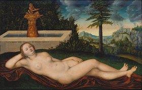 Lucas Cranach d.Ä.: Quellnymphe am Brunnen