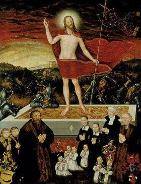Lucas Cranach d.J.: Allegorie der Erlösung