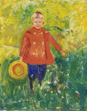 Edvard Munch: Knabe mit roter Jacke
