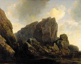 Christian Ezdorf: Felsenufer der Insel Mageröy in Norwegen