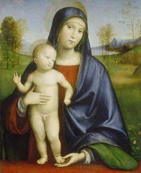 Francesco (Raibolini) Francia: Maria mit dem Kind