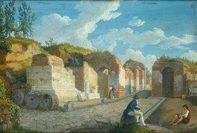 Jacob Philipp Hackert: Das Herkulaner Tor in Pompeji