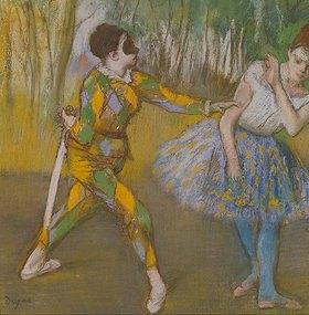 Edgar Degas: Harlekin und Columbine