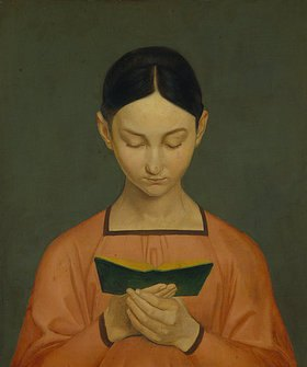 Gustav Adolph Hennig: Lesendes Mädchen
