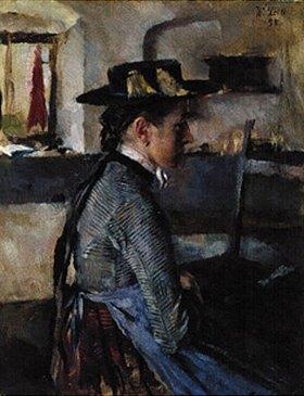 Wilhelm Leibl: In Erwartung