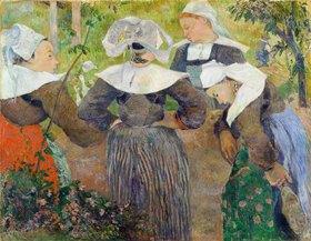 Paul Gauguin: Bretonische Bäuerinnen (Les Quatre bretonnes)