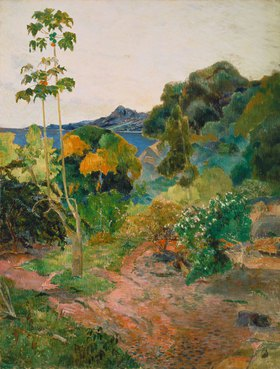 Paul Gauguin: Küstenlandschaft auf Martinique (Tropische Vegetation)