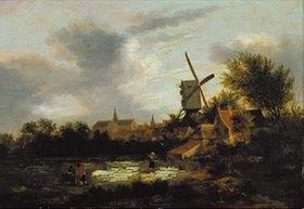 Klaes Molenaer: Die Bleiche bei Haarlem