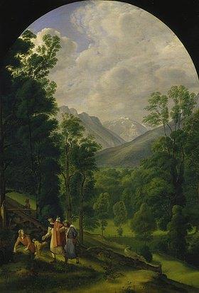 Ferdinand Olivier: Berchtesgadener Landschaft