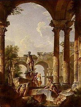Giovanni Paolo Pannini: Idealvedute mit Ruinen