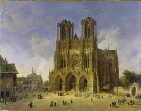 Domenico Quaglio: Der Dom zu Reims