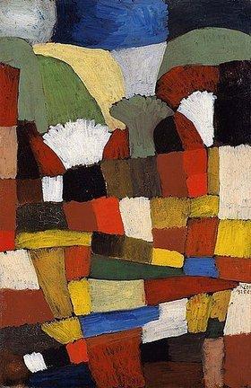 Paul Klee: Garten in P.H.  1925.