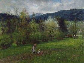 Johann Sperl: Oberbayerische Landschaft