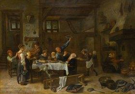 Jan Steen: Lustige Gesellschaft