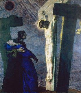 Franz von Stuck: Kreuzigung Christi