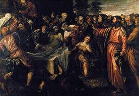 Tintoretto (Jacopo Robusti): Die Auferweckung des Lazarus