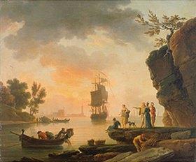 Claude Joseph Vernet: Seegestade mit Schiffen