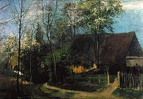 Eduard Weichberger: Dorf im Frühling