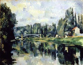 Paul Cézanne: Ufer der Marne