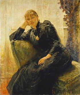 Fritz von Uhde: Bildnis einer jungen Frau