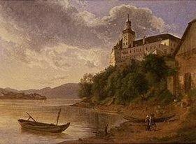 Joseph Rebell: Schloss Persenbeug an der Donau