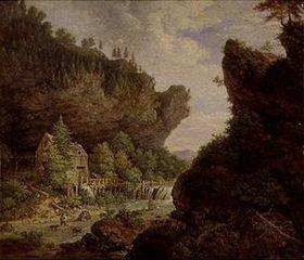 Johann Jakob Dorner d.J.: Mühle am Gebirgsbach