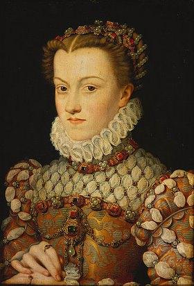 François Clouet: Elisabeth von Österreich, Königin von Frankreich