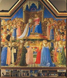 Fra Angelico: Krönung Mariae. Altar aus S. Domenico, Florenz